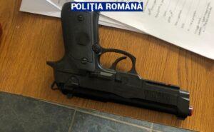 pistol airsoft, politia romana